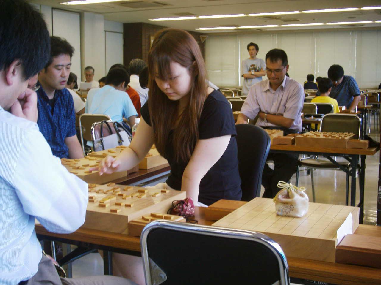 藤田綾女流初段