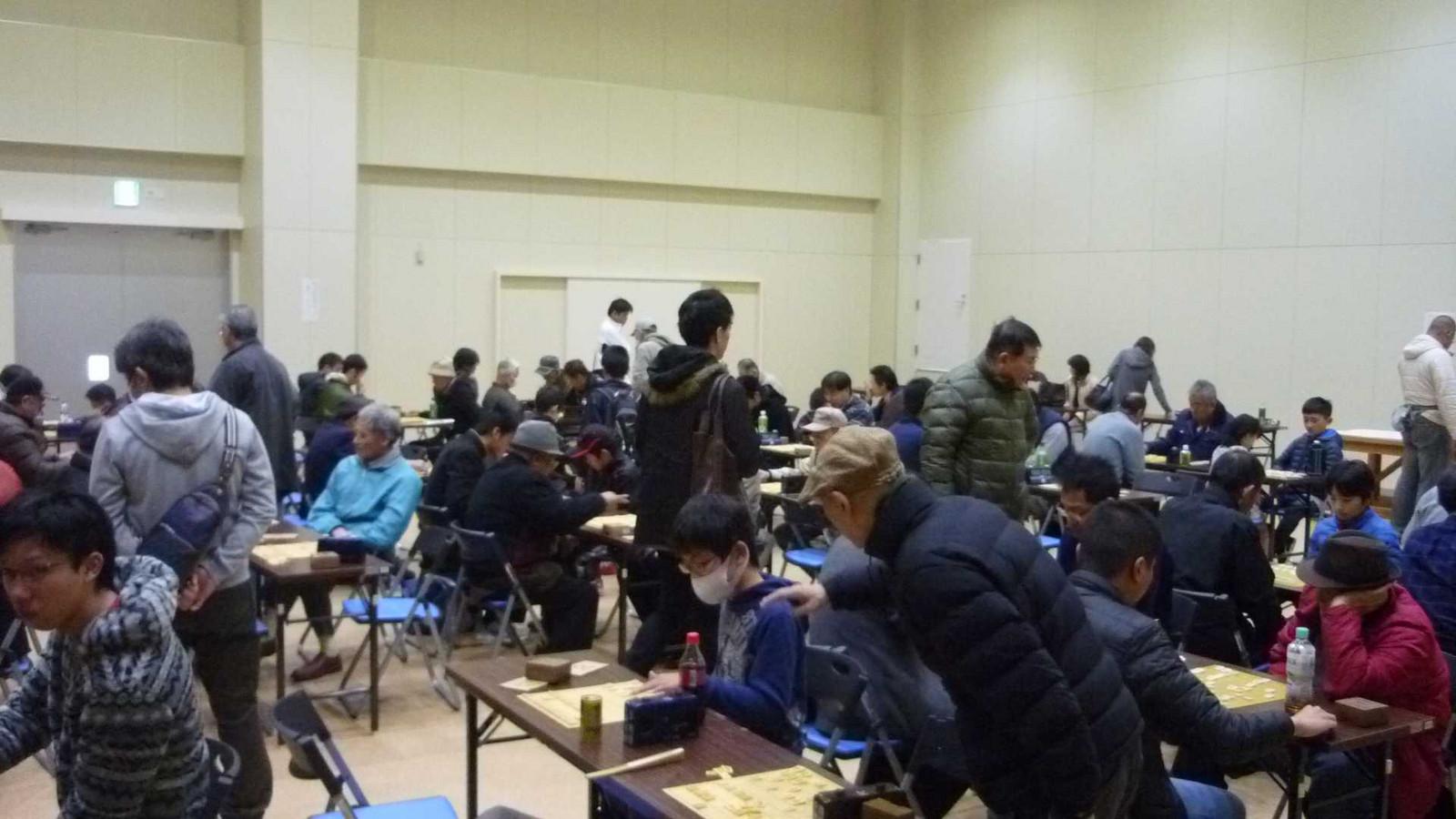 西日本久留米王位戦山口県予選の様子